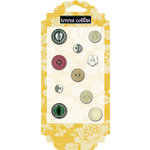 Teresa Collins - Fabrications Collection - Canvas - Buttons