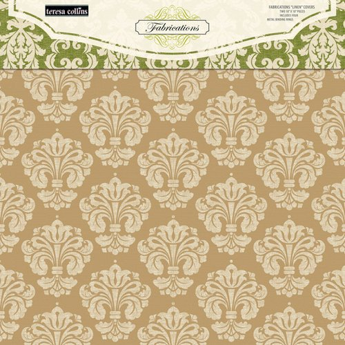 Teresa Collection - Fabrications Collection - Linen - Chipboard Album Covers