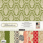 Teresa Collins - Fabrications Collection - Linen - 12 x 12 Paper and Accessories Pack