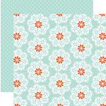 Teresa Collins Designs - Family Stories Collection - 12 x 12 Double Sided Paper - Doily