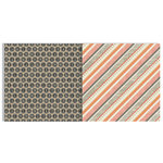 Teresa Collins - He Said She Said Collection - 12 x 12 Double Sided Paper - Stripes