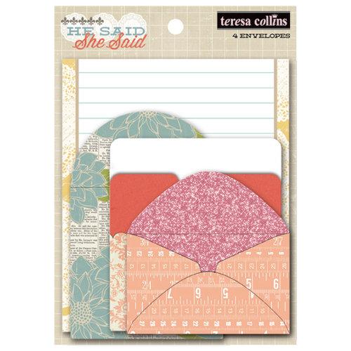 Teresa Collins - He Said She Said Collection - She Said - Envelopes