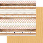 Teresa Collins - Life Emporium Collection - 12 x 12 Double Sided Paper - Multi Stripe
