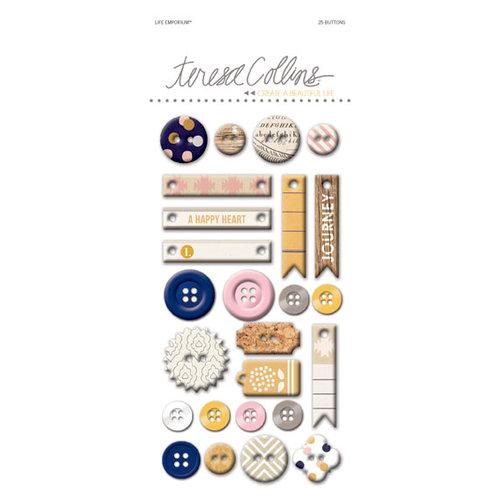 Teresa Collins - Life Emporium Collection - Decorative Buttons