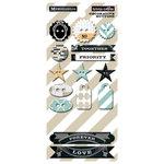 Teresa Collins - Memorabilia Collection - Chipboard Buttons