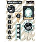 Teresa Collins - Memorabilia Collection - Layered Stickers