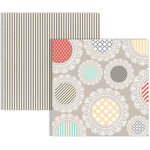 Teresa Collins - Memories Collection - 12 x 12 Double Sided Paper - Doily