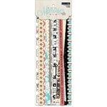 Teresa Collins - Memories Collection - Border Strips with Glitter Accents