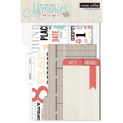 Teresa Collins - Memories Collection - File Folders