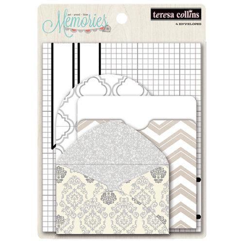 Teresa Collins - Memories Collection - Envelopes