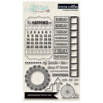 Teresa Collins - Memories Collection - Clear Acrylic Stamps