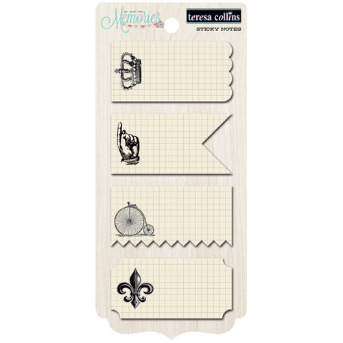 Teresa Collins - Memories Collection - Sticky Notes