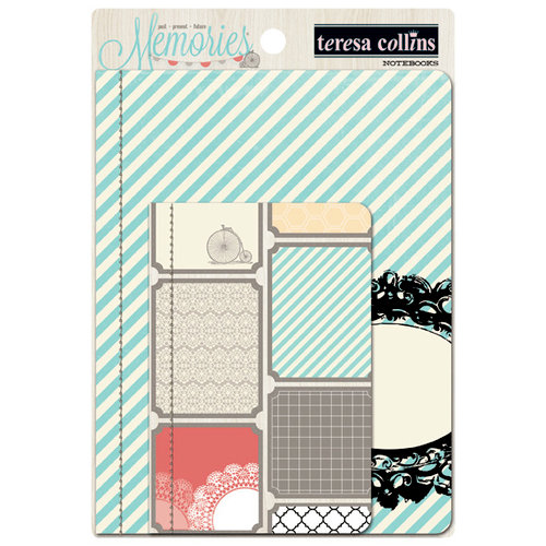 Teresa Collins - Memories Collection - Notebooks