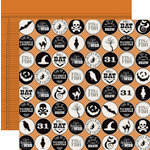 Teresa Collins - Masquerade Party Collection - 12 x 12 Double Sided Paper - Icons