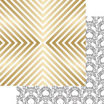 Teresa Collins - Nine and Co Collection - 12 x 12 Double Sided Paper with Foil Accents - Shine