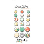 Teresa Collins - Nine and Co Collection - Decorative Brads