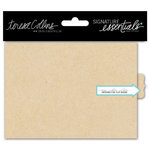 Teresa Collins - Signature Essentials Collection - Flip Book - Kraft - Small