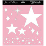 Teresa Collins - Signature Essentials Collection - 12 x 12 Stencil - Stars