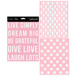Teresa Collins - Signature Essentials Collection - 8 x 10 Stencil Pack - Dream