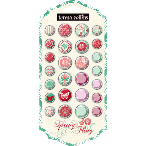 Teresa Collins - Spring Fling Collection - Brads