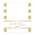 Teresa Collins - Studio Gold Collection - Stationery Pack - Foil Stripes