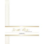 Teresa Collins - Studio Gold Collection - Stationery Pack - Foil Chevron