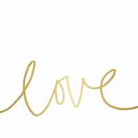 Teresa Collins - Studio Gold Collection - Card Set - Love