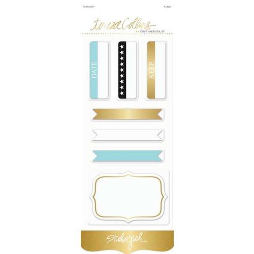 Teresa Collins Designs - Studio Gold Collection - Journaling Labels