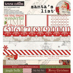 Teresa Collins - Santas List Collection - 6 x 6 Paper Pad
