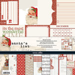 Teresa Collins - Santas List Collection - 12 x 12 Paper and Accessories Pack