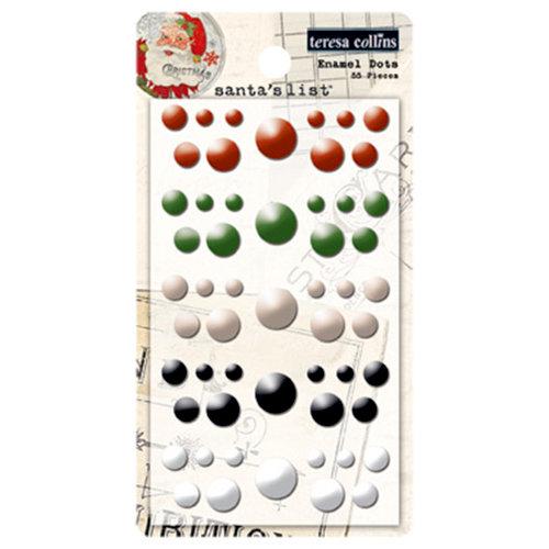 Teresa Collins - Santas List Collection - Enamel Dots
