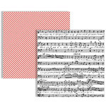 Teresa Collins - Stationery Noted Collection - 12 x 12 Double Sided Paper - Music