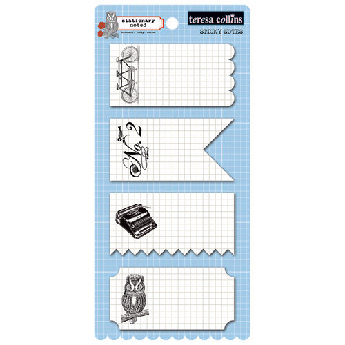 Teresa Collins - Stationery Noted Collection - Sticky Notes