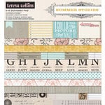 Teresa Collins - Summer Stories Collection - 6 x 6 Paper Pad