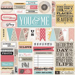 Teresa Collins - Summer Stories Collection - 12 x 12 Die Cut Paper
