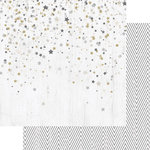 Teresa Collins Designs - Tinsel and Company Collection - Christmas - 12 x 12 Double Sided Paper - Stars
