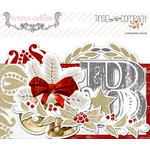 Teresa Collins - Tinsel and Company Collection - Christmas - Ephemera Pack