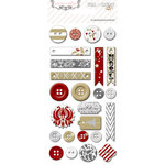 Teresa Collins - Tinsel and Company Collection - Christmas - Decorative Buttons