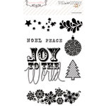 Teresa Collins - Tinsel and Company Collection - Christmas - Clear Acrylic Stamps