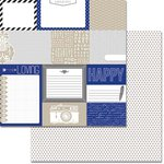 Teresa Collins - Urban Market Collection - 12 x 12 Double Sided Paper - Cards