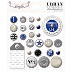 Teresa Collins - Urban Market Collection - Decorative Brads
