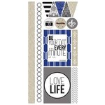 Teresa Collins - Urban Market Collection - Die Cut Chipboard Stickers