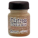 Ranger Ink - Tim Holtz - Distress Crackle Paint - Metallic Antiqued Bronze
