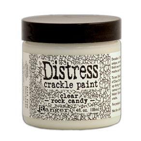 Ranger Ink - Tim Holtz - Distress Crackle Paint - Clear Rock Candy - 4 Ounces