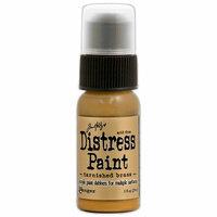 Ranger Ink - Tim Holtz - Distress Paint - Metallic - Tarnished Brass