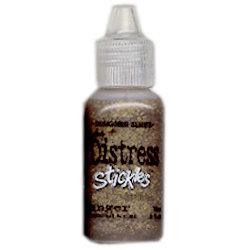 Ranger Ink - Tim Holtz - Distress Stickles Glitter Glue - Tarnished Brass