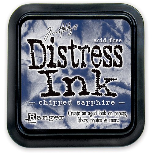 Distress Ink Chipped Sapphire