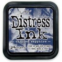 Ranger Ink - Tim Holtz - Distress Ink Pads - Chipped Sapphire