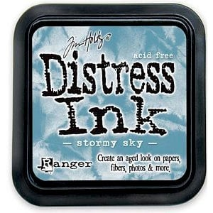 Ranger Ink - Tim Holtz - Distress Ink Pads - Stormy Sky
