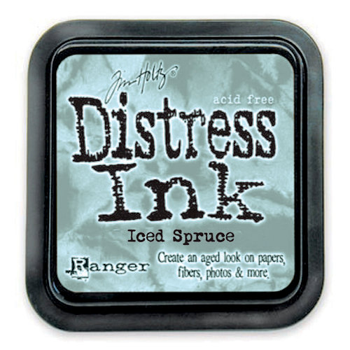 Ranger Ink - Tim Holtz - Distress Ink Pads - Iced Spruce